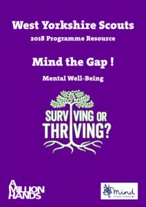 Mind the Gap - Mental Health Resource