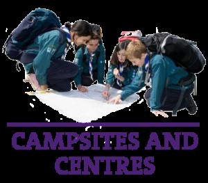 Widget Header Campsites and Centres